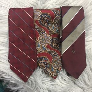 Bundle of Christian Dior men's neck ties